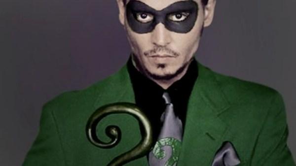 Johnny Depp In Nolan Batman