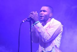 "Frank Ocean releases shock cowl of ""Moon River"" for his huckleberry associates"