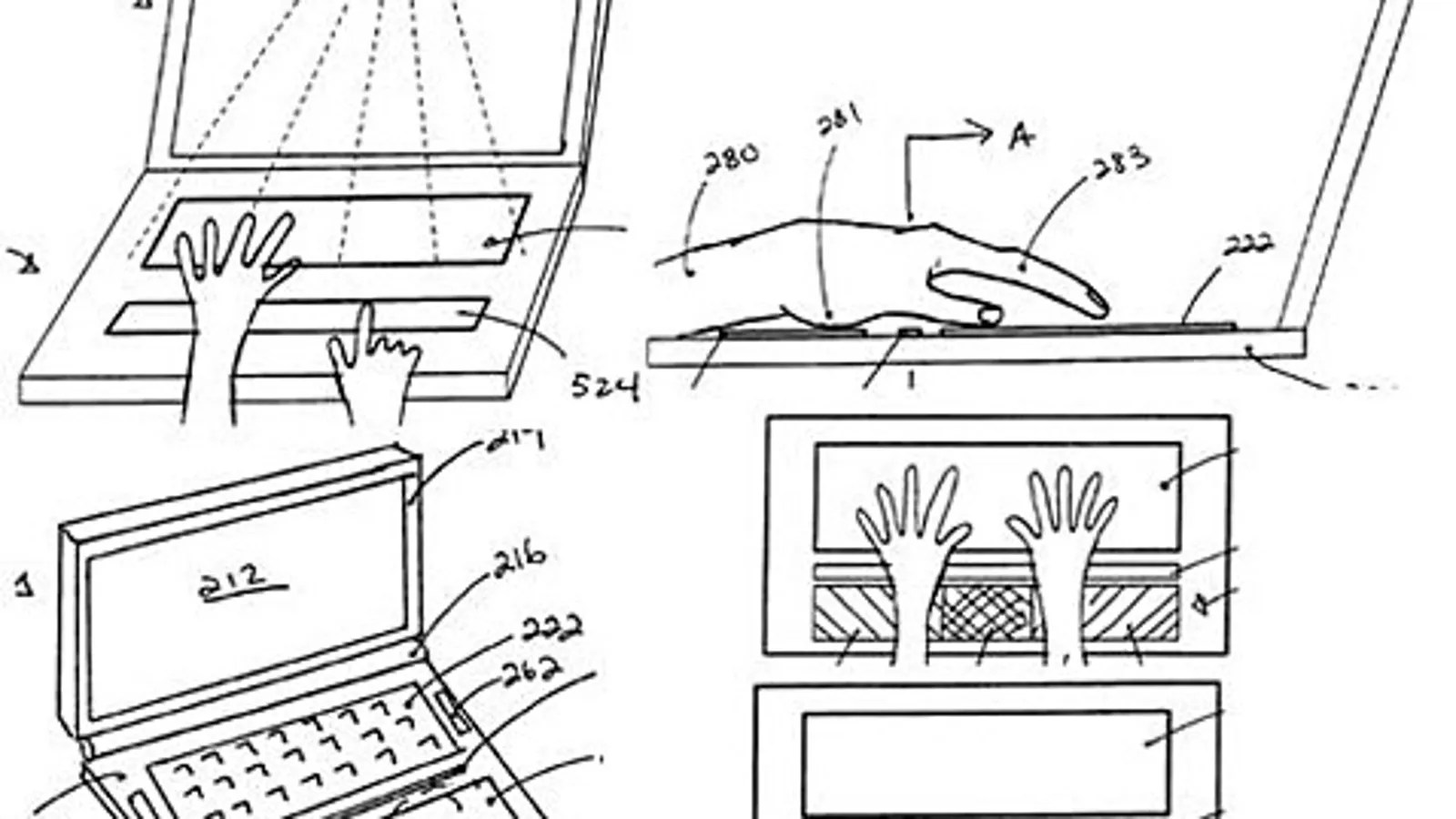 Apple Applies for Patent on MultiTouch Interface for