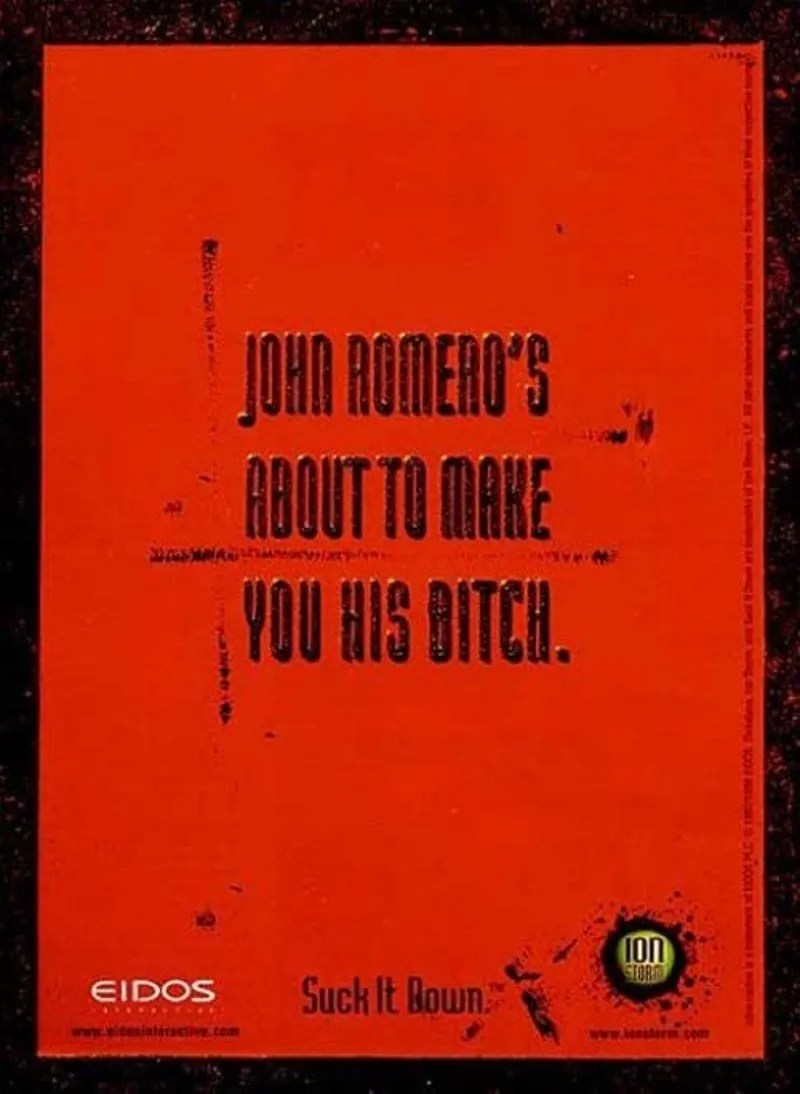 hight resolution of daikatana is a cautionary tale on the dangers of uncontrolled hype how much hype did this game have enough that ads published in magazines promised you