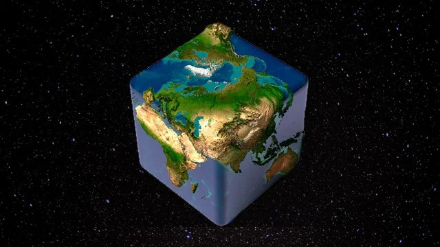How Gravity Would Be Different If the World Were a Cube
