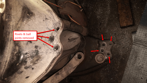 small resolution of here s how to replace the worst type of ball joints in the automotive world