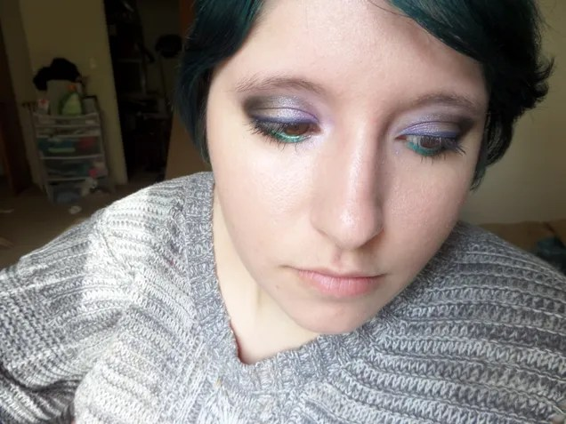 Lilac Breasted Roller Makeup Tutorial