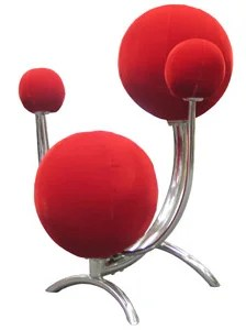 weird shaped chairs host and hostess dining room solar system chair has balls