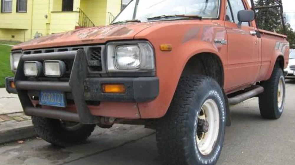 medium resolution of 83 toyotum truck