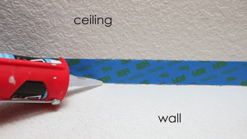 Painting Tips Ceiling Edges Www Energywarden Net