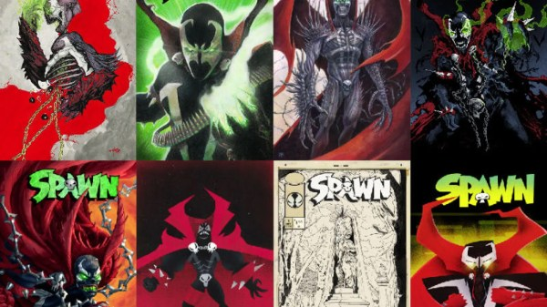 25th Anniversary Spawn Art Show Kind Of Terrifying