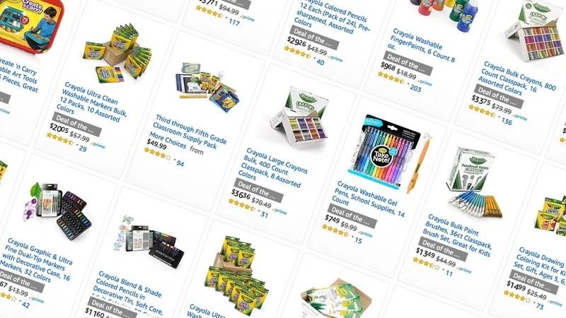 Amazon ofrece una venta masiva de Crayola de un día, que incluye ...