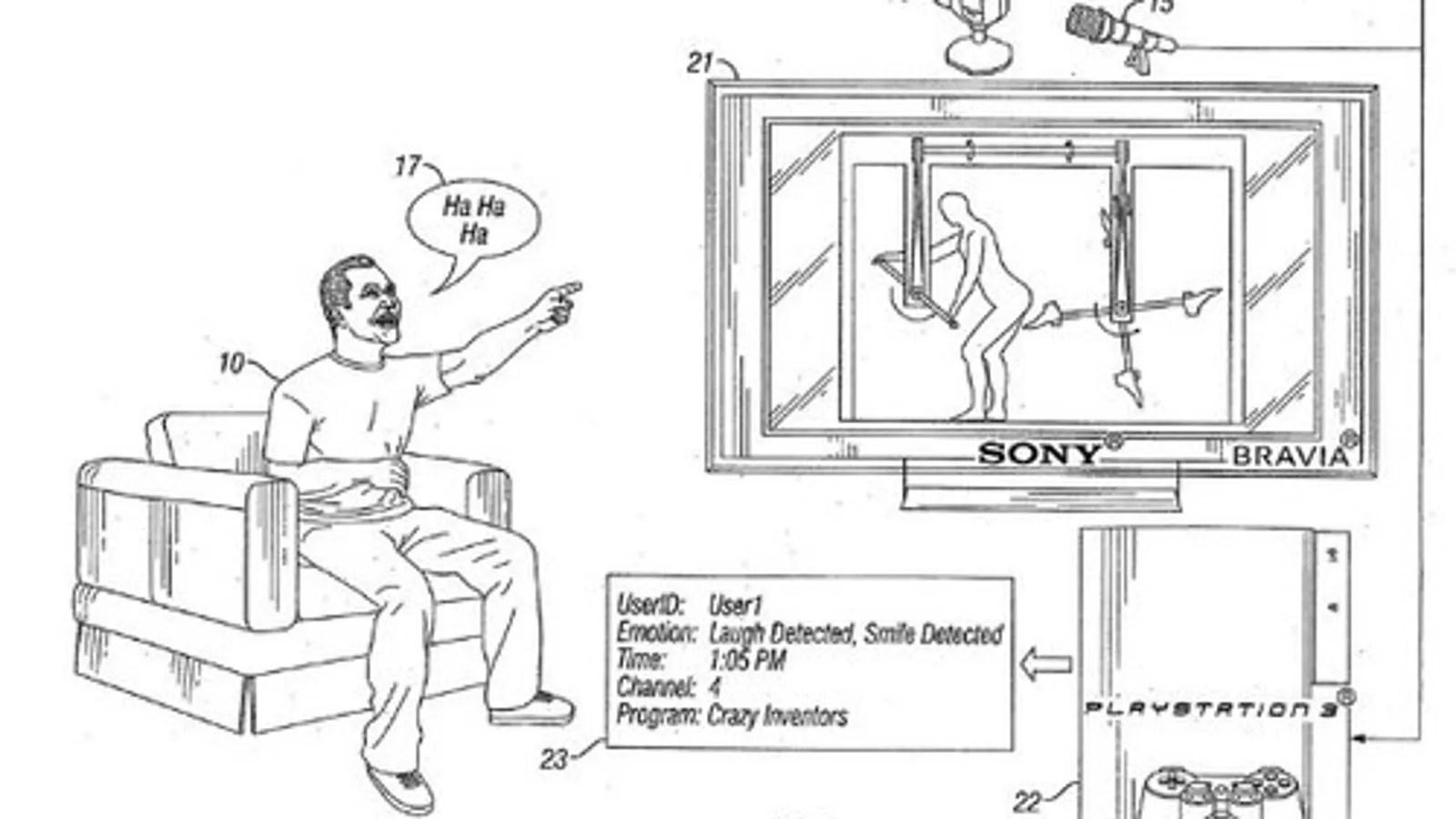 Sony PS3 Laugh Detector Patent Has Very Juvenile Sense of