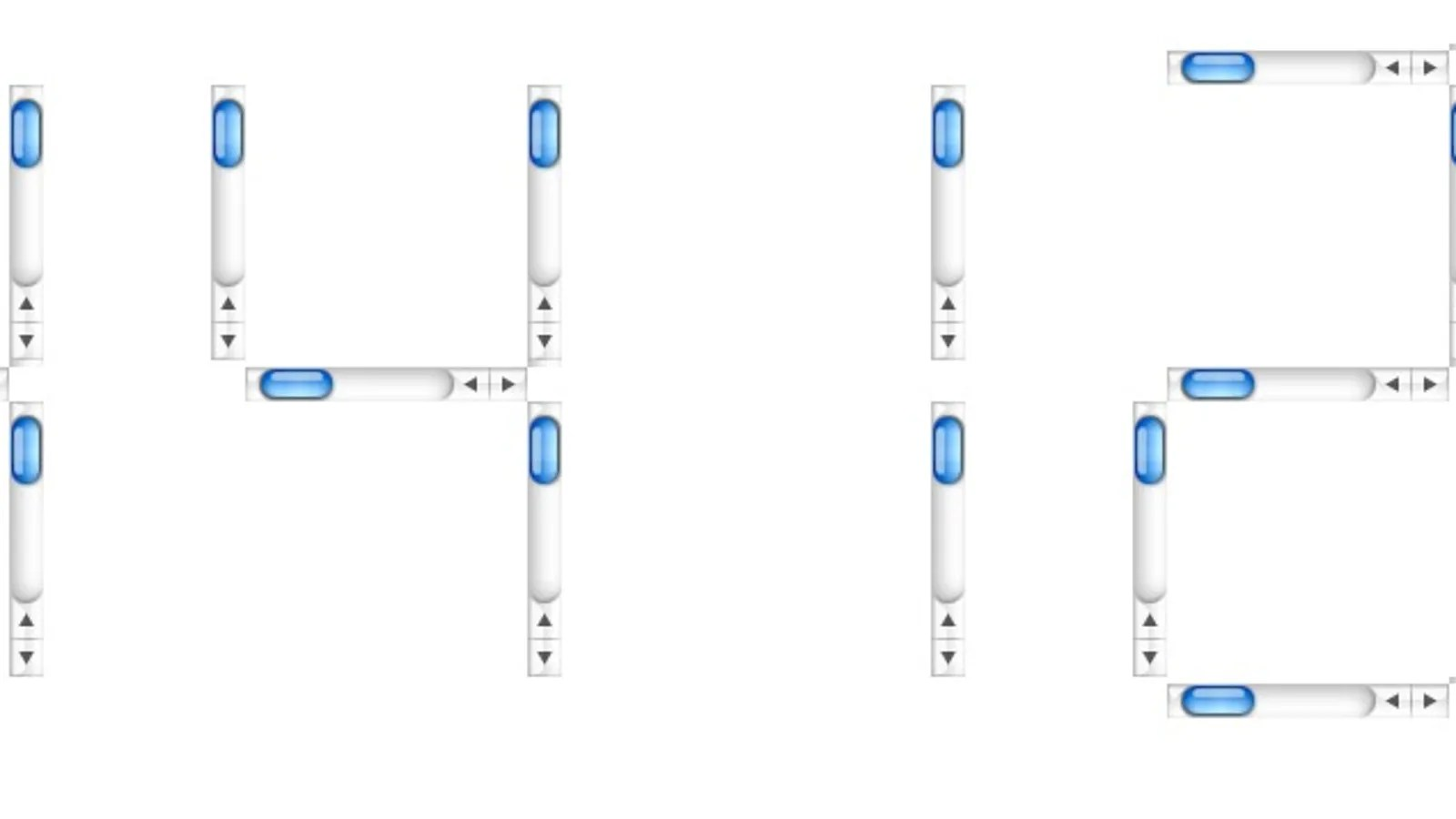 Moving Scroll Bar Clock Makes My Inner Web Designer Queasy