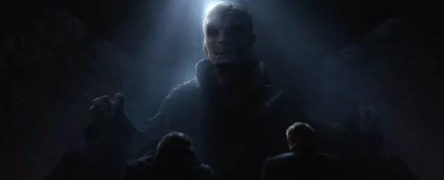 Le 13 teorie più assurde circa lidentità del capo supremo Snoke