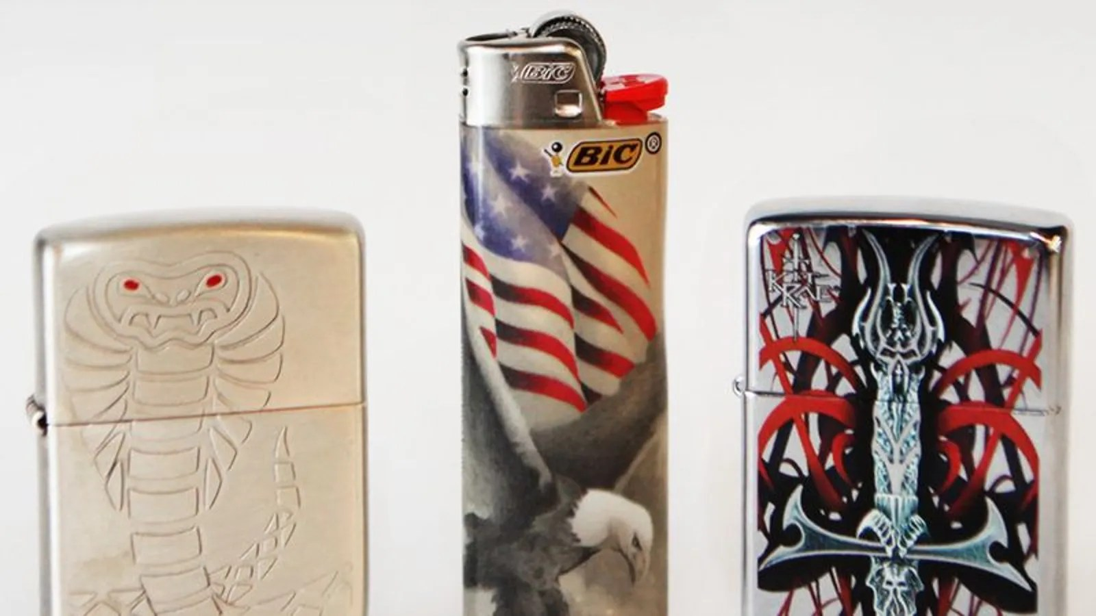 3 cool lighters we