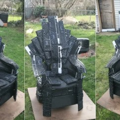Game Of Thrones Office Chair Narrow Dining Room Chairs We Should All Fight For This Iron Throne Made From Computer Keyboards Who Cares That The In Is Forged Swords Everyone Aegon Conquered Nerds By Artist Mike Dewolfe
