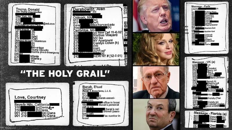 Here Is Pedophile Billionaire Jeffrey Epstein's Little Black Book