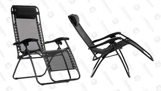 outdoor revolution posture xl chair white dining chairs relax in this discounted zero gravity amazonbasics utter buzz it s summer so you deserve a little relaxation time and might help