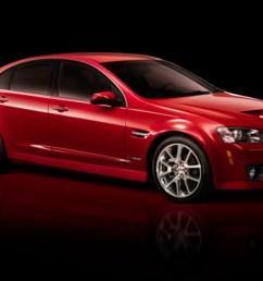 2009 pontiac g8 gxp revealed gets corvette ls3 power and a manual transmission [ 1600 x 900 Pixel ]