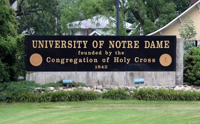 "Report: Notre Dame Tutor Forced Student-Athletes to Have ""Racially-Motivated"" Sex With Her Daughter"