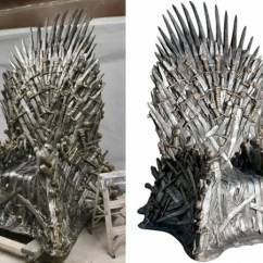 Game Of Thrones Office Chair Round Wicker Outdoor Rule Your Kingdom With This 30 000 Replica Herman Miller S Line Chairs Might Offer Extreme Comfort Proper Ergonomics But They Re Lacking A Certain Something To Ensure Co Workers