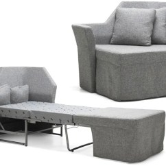 Fold Away Single Chair Bed Brown Jordan Chairs An Incredibly Tiny Sofa For Your Skinniest Houseguests