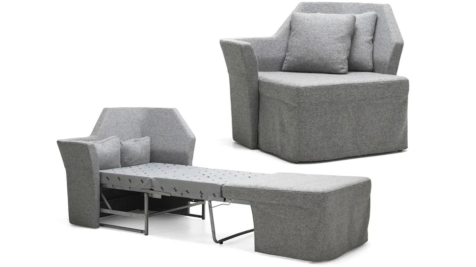 chairs that fold out into beds chair covers for electric recliners an incredibly tiny sofa bed your skinniest houseguests