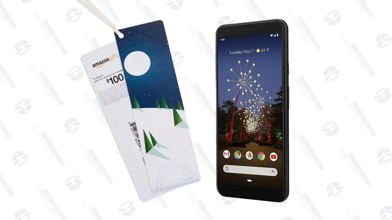Pick Up the Google Pixel 3a XL for $479 from Amazon and Get a $100 Gift Card. Right Now