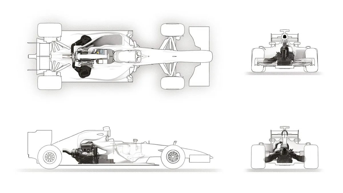 hight resolution of f1 car diagram basic
