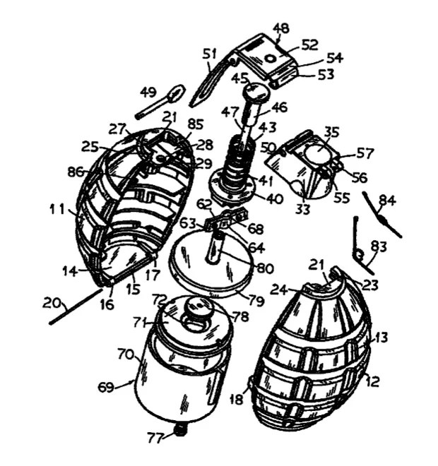 Exploding Dye Toy Grenade Patented, Parents Nervous Already