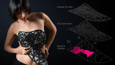 This 3D-Printed Dress Reveals More Skin As You Reveal More Data