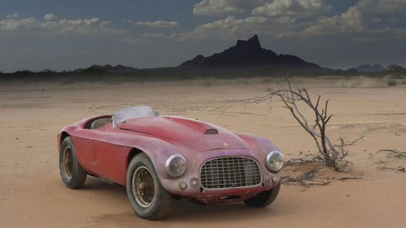 A scene from Red Barchetta