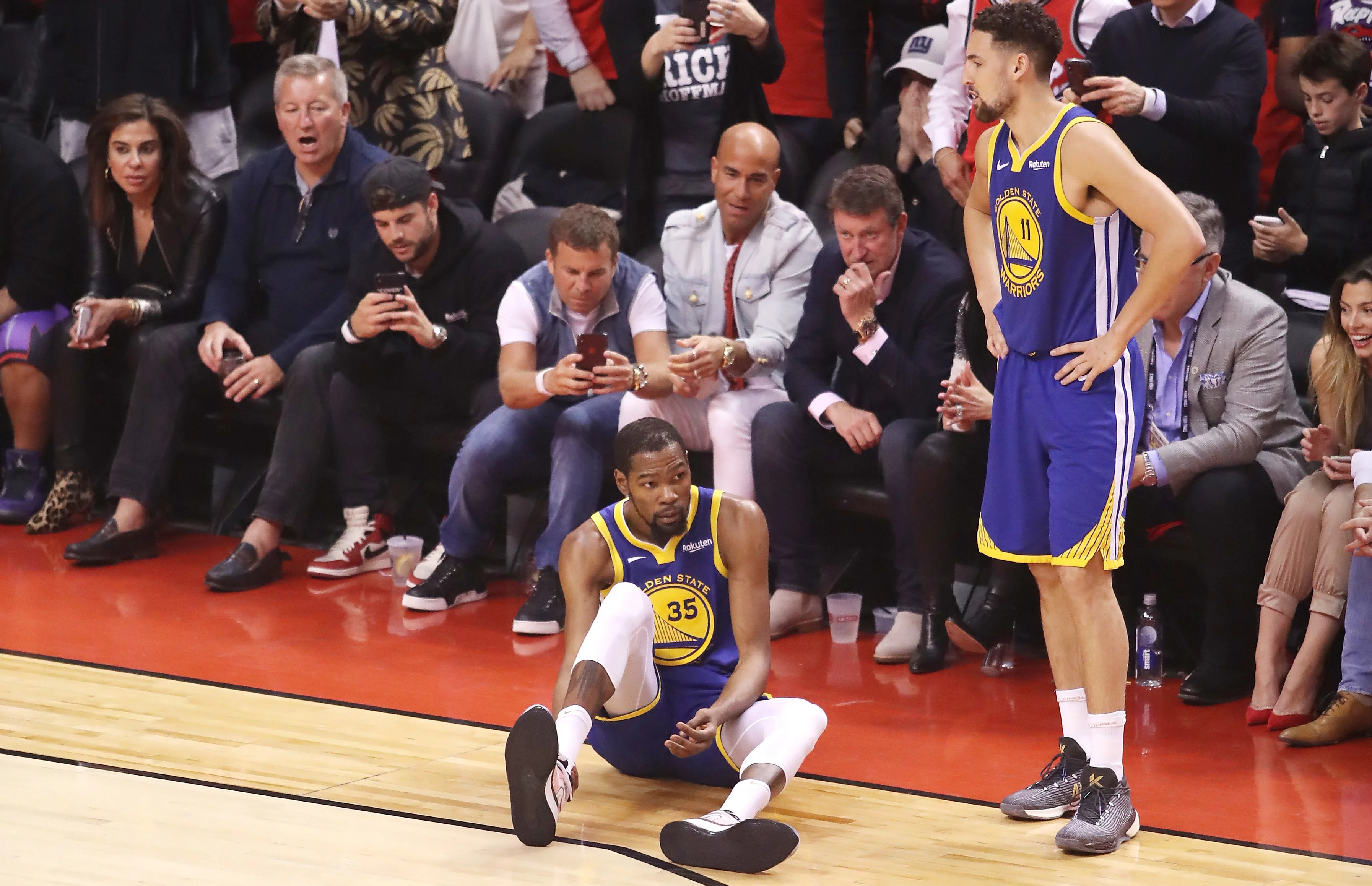 Warriors President Of Basketball Operations Bob Myers Reveals Kevin Durant's Achilles Injury