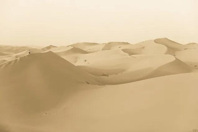 The Empty Quarter Is The Largest Sand Sea On The Planet