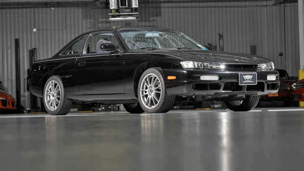 medium resolution of this completely unmolested nissan 240sx has 676 miles and was kept in a living room