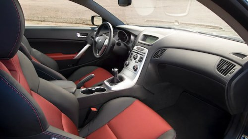 small resolution of hyundai genesi coupe interior