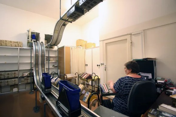 Ride Along on a Four-Mile-Long Roller Coaster for Library Books