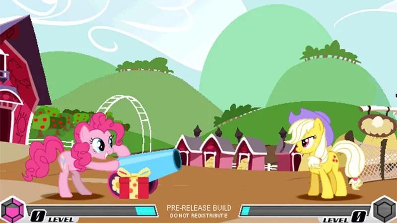 nixed my little pony