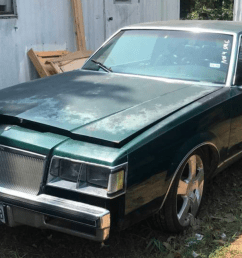 someone tried turning this boring 1984 buick regal into a toyota and the result is amazing [ 1600 x 900 Pixel ]