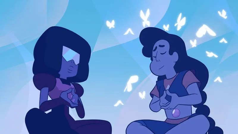 Falling In Reverse Wallpapers For Iphone 5 Steven Universe And Connie Get A Mindful Education From