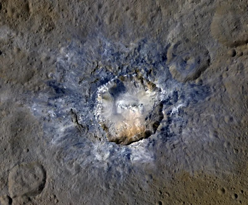 Our Closest View Yet of Ceres' Strange Bright Spots Finally Reveals How They Formed
