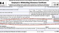 Nc 4 Allowance Worksheet - Breadandhearth