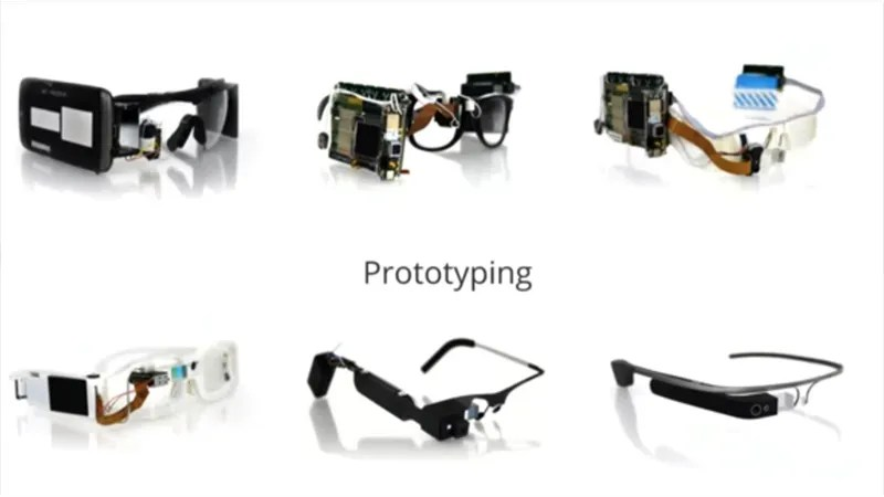 Here Are What the Google Glass Prototypes Looked Like