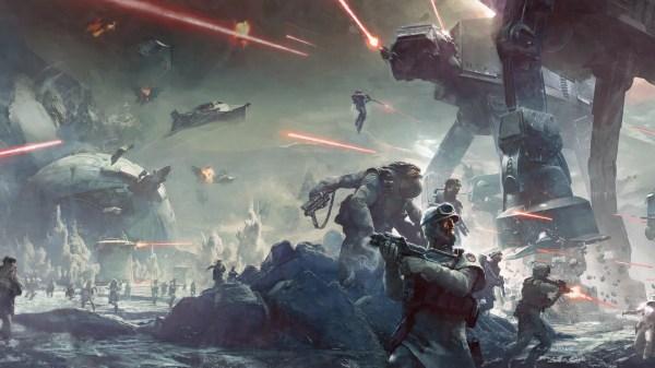 Battle Of Hoth Work Art