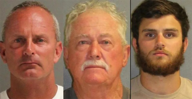(L-R)Troy Noe, Warren Stratton and John Noe Photo: Volusia County Sheriff's Office