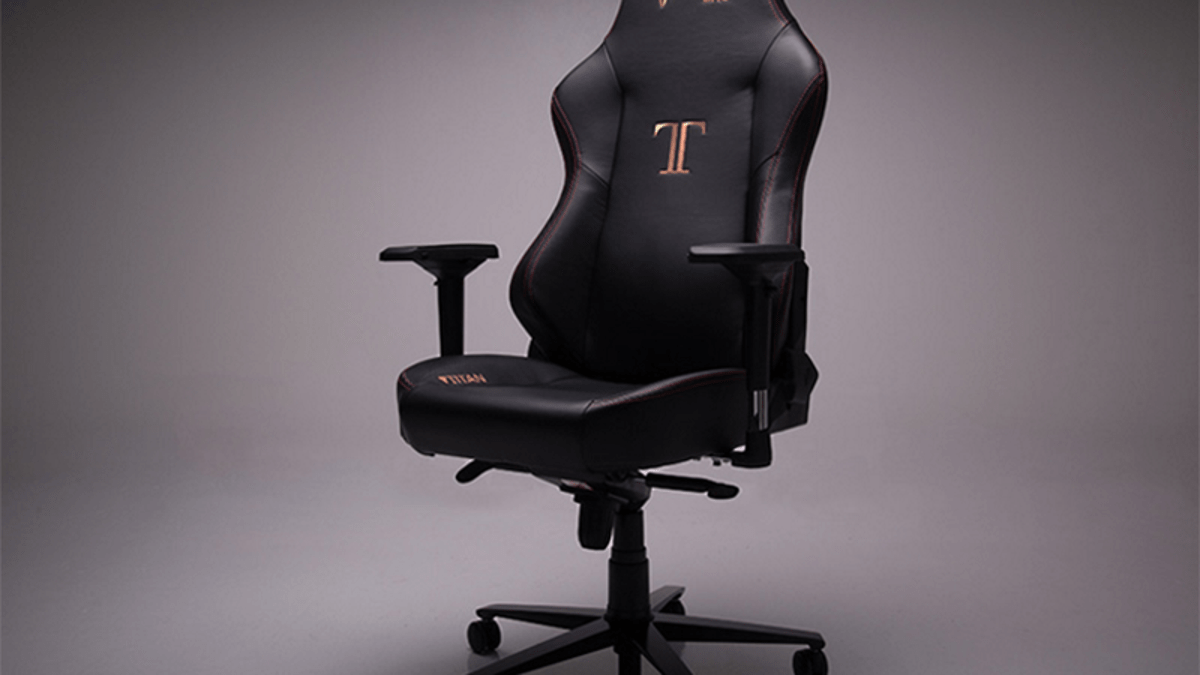 Gaming Chair For Big Guys Secretlab Titan Review A Big Gaming Chair For Big Gaming People