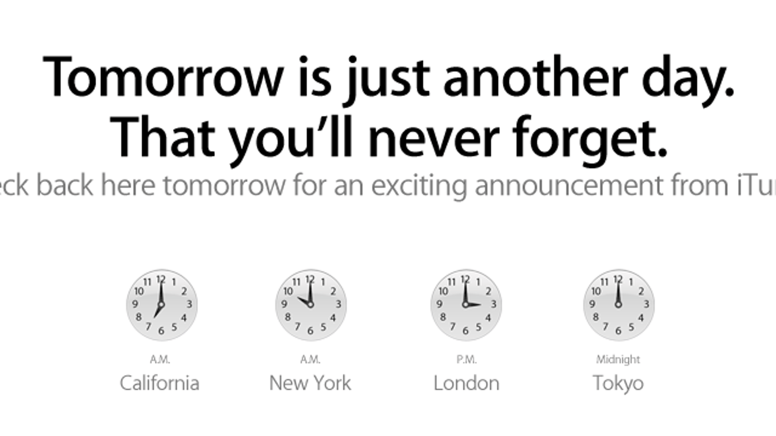 What's Apple Planning For iTunes Tomorrow?