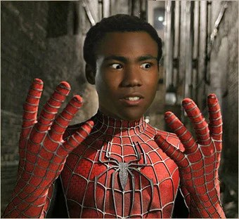 donald glover for spider