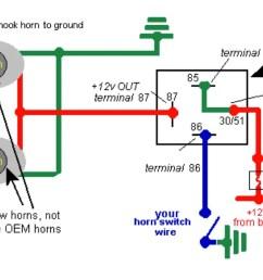 wiring up air horn [ 1200 x 675 Pixel ]