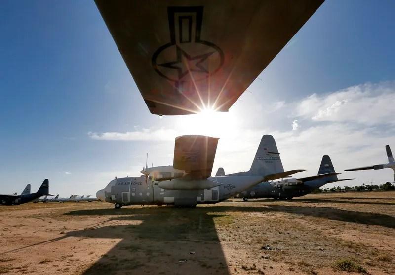 Dentro del cementerio de aviones militares más grande del mundo