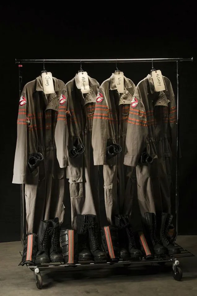 Beau Speaking Of Ghosts, The New Uniforms And Proton Packs For The Upcoming  Ghost Busters Flick Look The Business