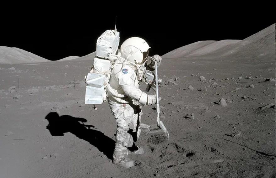 Resultado de imagen para nasa rocas lunares