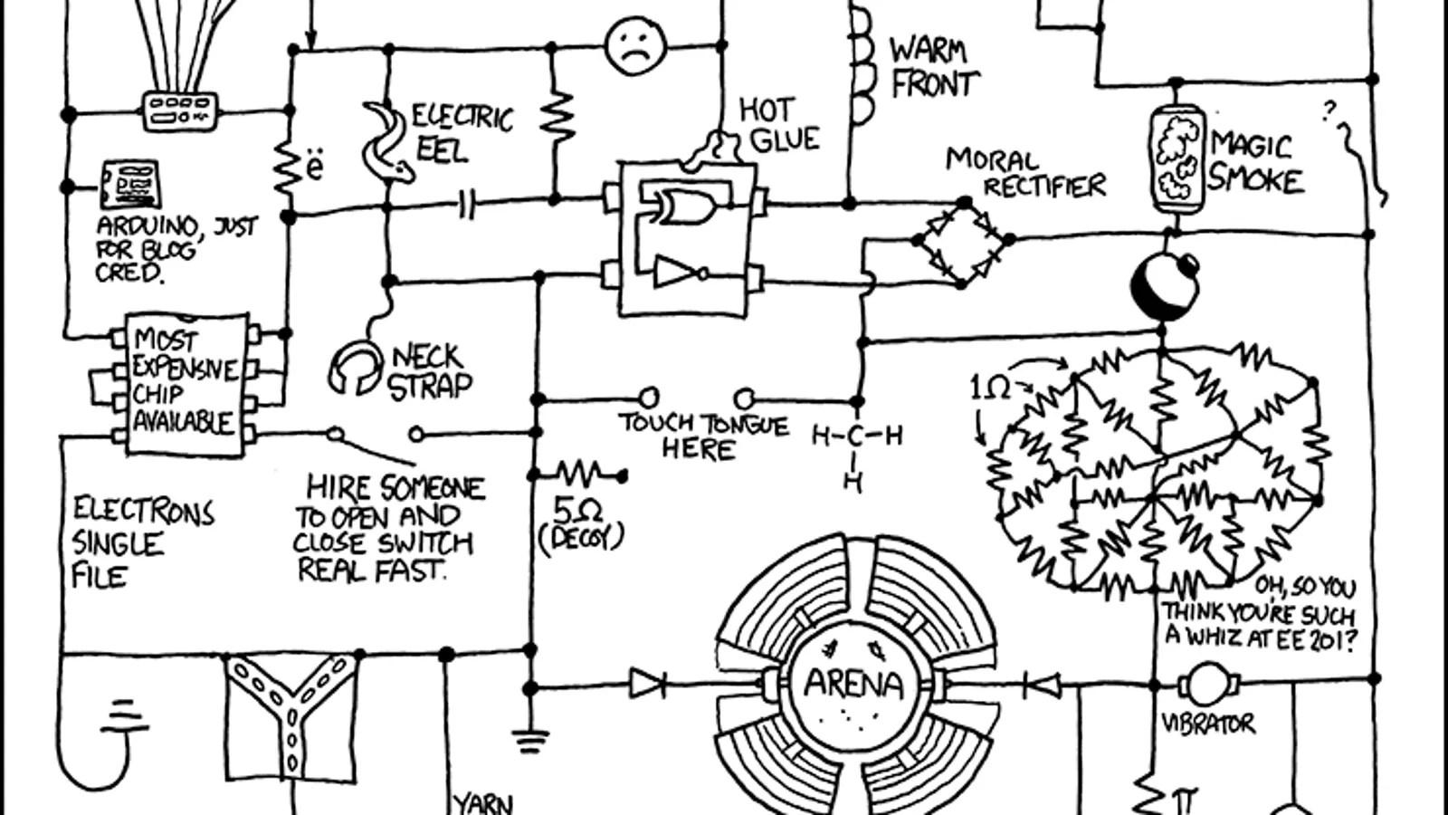 Life Inside a Circuit Diagram